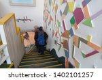 chuncheon  south korea april... | Shutterstock . vector #1402101257