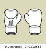 boxing gloves   Shutterstock .eps vector #140210665