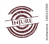 red injure distressed with...   Shutterstock .eps vector #1402115504