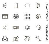 online consultation ine icon... | Shutterstock .eps vector #1402122941