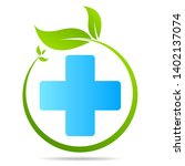 health care green medical cross ... | Shutterstock .eps vector #1402137074
