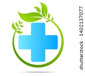 health care green medical cross ... | Shutterstock .eps vector #1402137077