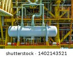 oil and gas industry. view at... | Shutterstock . vector #1402143521