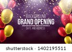 grand opening. banner with... | Shutterstock .eps vector #1402195511