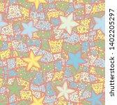 seamless composition. not... | Shutterstock .eps vector #1402205297