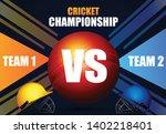 illustration of stadium of... | Shutterstock .eps vector #1402218401