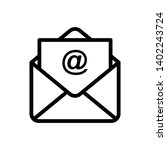 simple mail and envelope vector ...