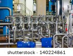 pipes and tanks for the food... | Shutterstock . vector #140224861