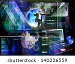 programming internet website... | Shutterstock . vector #140226559