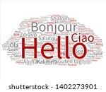 vector concept or conceptual... | Shutterstock .eps vector #1402273901