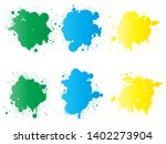 vector collection of artistic... | Shutterstock .eps vector #1402273904