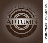 autumn wooden signboards....
