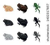 vector design of wildlife and... | Shutterstock .eps vector #1402317857