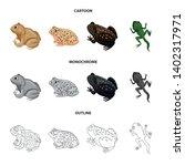 vector design of wildlife and... | Shutterstock .eps vector #1402317971