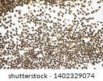 chia seeds pattern texture on... | Shutterstock . vector #1402329074