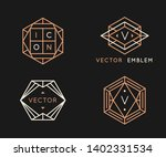 vector logo design templates... | Shutterstock .eps vector #1402331534