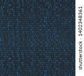 vector seamless pattern. binary ... | Shutterstock .eps vector #1402348361