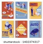 set of social advertisement for ... | Shutterstock .eps vector #1402374317