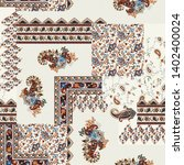 seamless patchwork pattern on crime