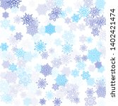 blue transparent paper... | Shutterstock .eps vector #1402421474