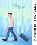 business holiday concept of man ...   Shutterstock .eps vector #1402462211