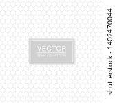 simple seamless hexagonal... | Shutterstock .eps vector #1402470044