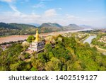 Luang Prang Laos View. Mount...