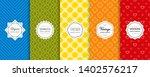 vector geometric seamless... | Shutterstock .eps vector #1402576217