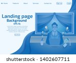 vector background illustration...   Shutterstock .eps vector #1402607711