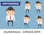 character flat design. happy...   Shutterstock .eps vector #1402611854