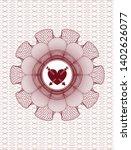 red passport money style... | Shutterstock .eps vector #1402626077