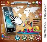 vector design set of...   Shutterstock .eps vector #140262967
