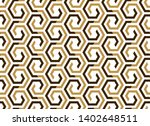 abstract geometric pattern with ... | Shutterstock .eps vector #1402648511