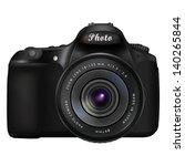 modern black digital single... | Shutterstock .eps vector #140265844
