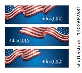 flag of united states of...   Shutterstock .eps vector #1402682681