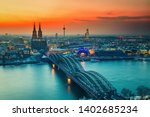 Cologne Cathedral And...