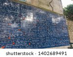 In Paris  This Is A Wall Of...