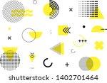 abstract geometric memphis...   Shutterstock .eps vector #1402701464