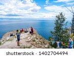olkhon island  russia   july 30 ... | Shutterstock . vector #1402704494