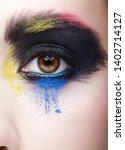 close up macro portrait of...   Shutterstock . vector #1402714127