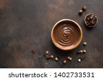 chocolate hazelnut spread on... | Shutterstock . vector #1402733531