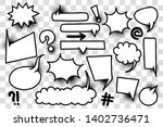 comic book text speech bubble... | Shutterstock .eps vector #1402736471