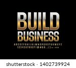 vector golden design build... | Shutterstock .eps vector #1402739924