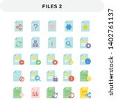 flat icons pack for ui. pixel...
