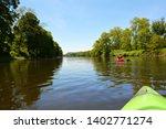 Kayaking On The Delaware River...