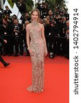 """Small photo of CANNES, FRANCE. May 20, 2019: Natalia Vodianova at the gala premiere for """"La Belle Epoque"""" at the Festival de Cannes. Picture: Paul Smith / Featureflash"""
