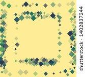 rhombus ornate minimal... | Shutterstock .eps vector #1402837244