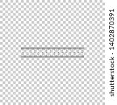 ruler icon isolated on... | Shutterstock . vector #1402870391