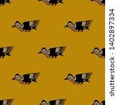 seamless geometrical animal...   Shutterstock .eps vector #1402897334