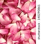 Stock photo pink rose petals background 140290861